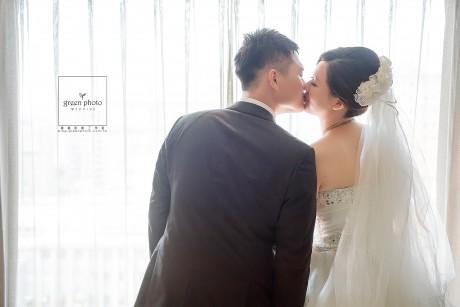 新人 / 瑞奇 & 玉婷  攝影 / 周上  場地 / 晶華酒店