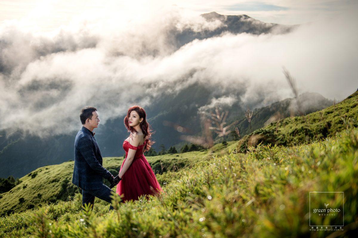 綠攝影像,武少,清境小蜜月,合歡山婚紗