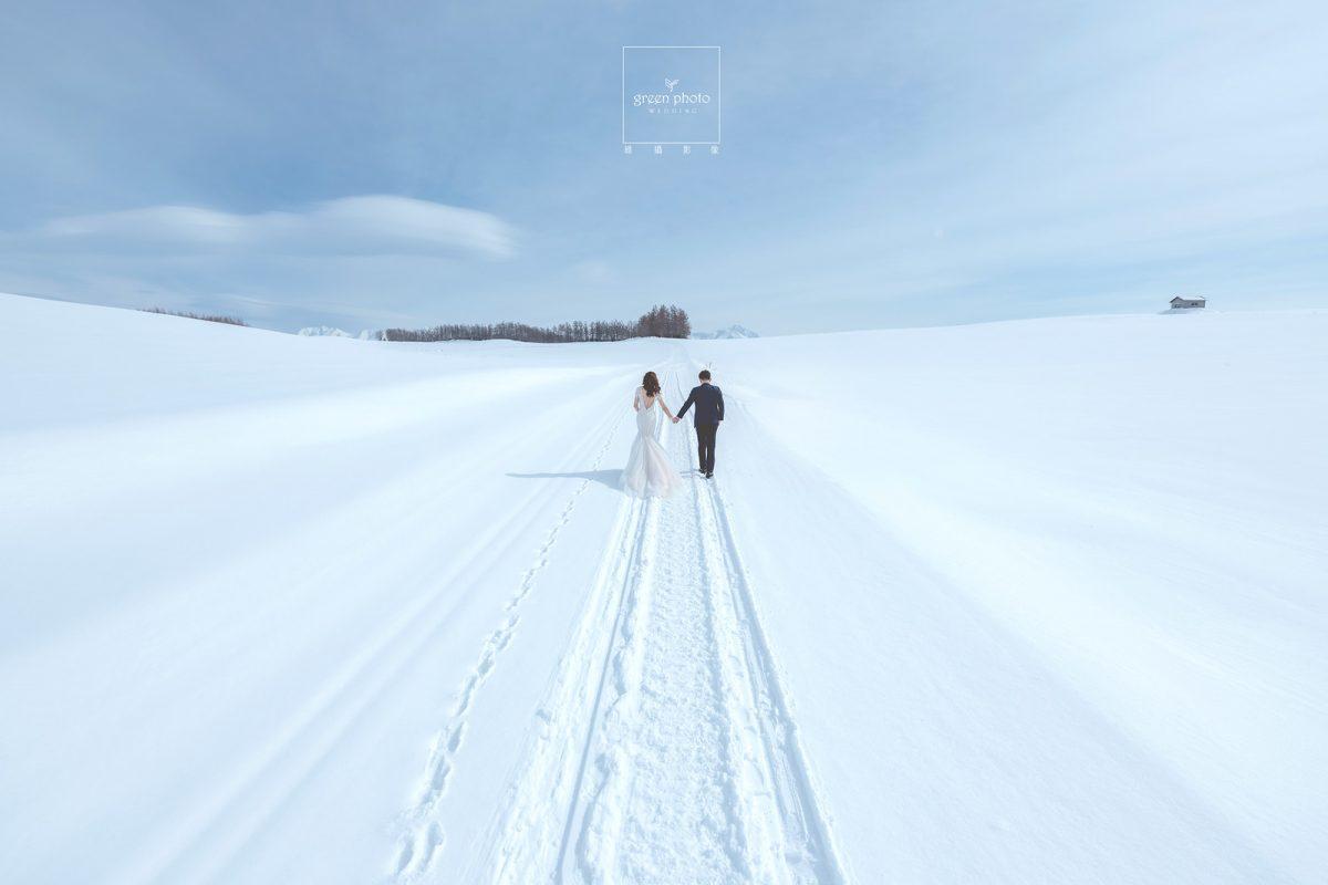 海外婚紗|北海道婚紗|綠攝影像
